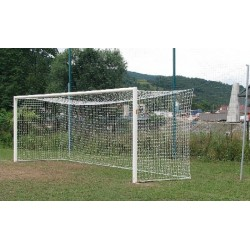 bramka do piłki nożnej profesjonalna tulejowana 7,5x2,5 m