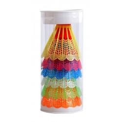 Lotki do badmintona plastikowe 6szt. TELOON