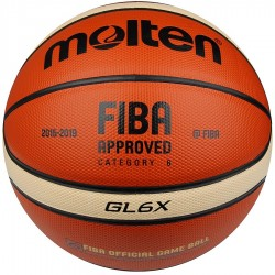 Piłka do koszykówki MOLTEN BGL6X FIBA