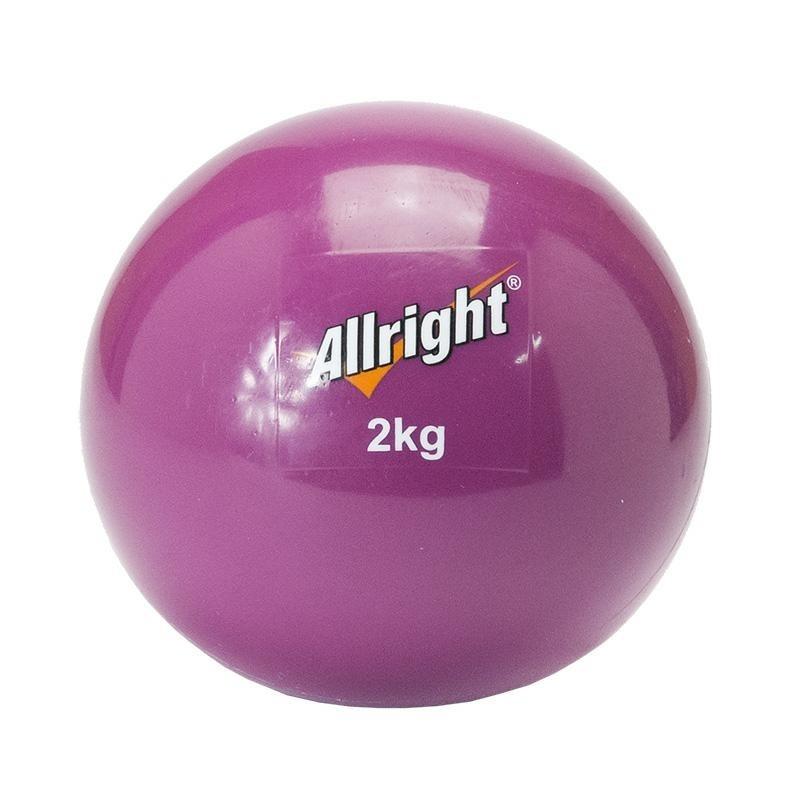 ALLRIGHT Piłka lekarska wagowa soft 2kg