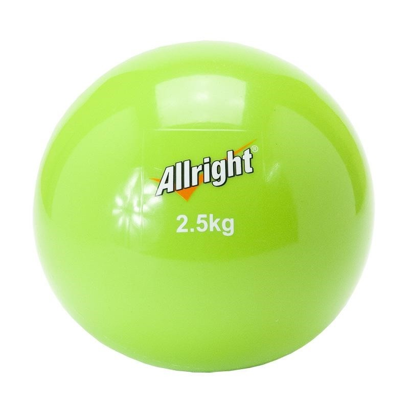ALLRIGHT Piłka lekarska wagowa soft 2,5kg