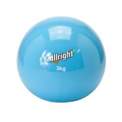 ALLRIGHT Piłka lekarska wagowa soft 3kg