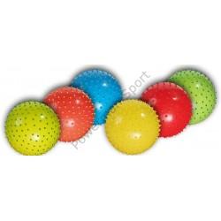 Piłka gumowa gimnastyczna z kolcami 20cm