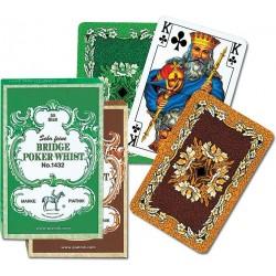 Karty do gry PIATNIK Liście dębu 1432