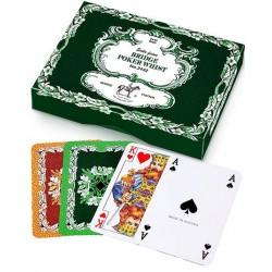 Karty do gry PIATNIK Liście dębu 2432