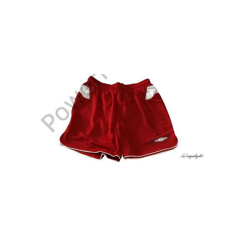 UMBRO Spodenki HUNTER czerwono-białe rozmiar XXL