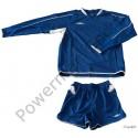 Strój piłkarski UMBRO HUNTER długi rękaw niebieski
