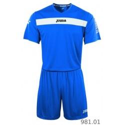Strój piłkarski JOMA Academy niebieski