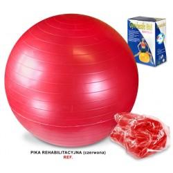 Piłka gimnastyczna 55cm z pompką LEG