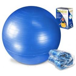 Piłka fitness 65cm z pompką LEGEND