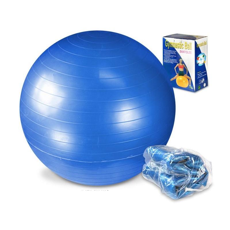 Piłka gimnastyczna 65cm z pompką LEG