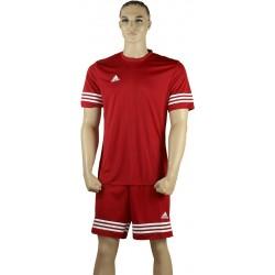ADIDAS Strój piłkarski ENTRADA 14 czerwony