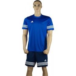 ADIDAS Strój piłkarski juniorski ENTRADA 14 niebiesko-granatowy