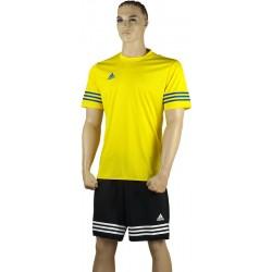 ADIDAS Strój piłkarski juniorski ENTRADA 14 żółto-czarny