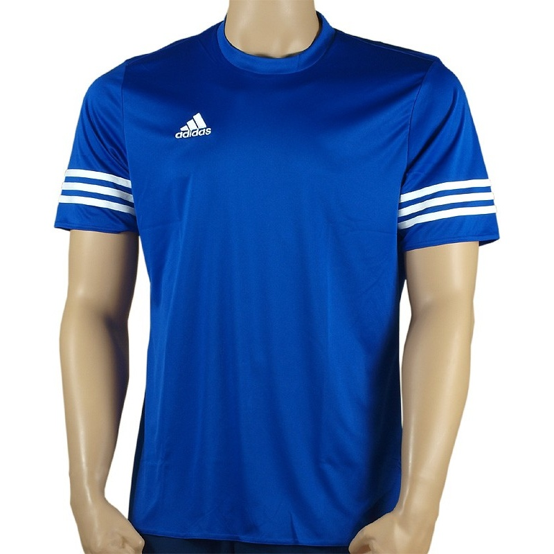 ed86ec104 ADIDAS Koszulka piłkarska juniorska ENTRADA 14 niebieska - Sklep ...