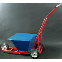 Wózek do malowania linii na boiskach