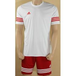 ADIDAS Strój piłkarski ENTRADA 14 biało-czerwony