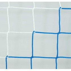 Siatka do piłki nożnej 7,5x2,5x2x2 - 4mm bicolor EL LEON DE ORO