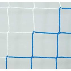Siatka do piłki nożnej 5x2x1x1,5 - 4mm bicolor EL LEON DE ORO