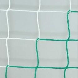 Siatka do piłki ręcznej 3x2x0,8x1 - 4mm bicolor EL LEON DE ORO