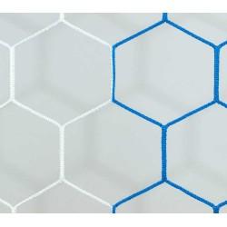Siatka do piłki ręcznej 3x2x0,8x1 - 4mm HEX bicolor EL LEON DE ORO