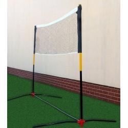 Słupki do badmintona wolnostojące regulowane z siatką