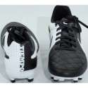 Buty piłkarskie NIKE TIEMPO GENIO LEATHER FG czarno-białe