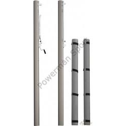 Słupki aluminiowe do siatkówki POLSPORT