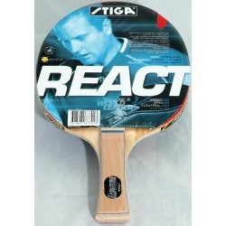 Rakietka do tenisa stołowego STIGA React