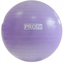 Piłka fitness 55cm z ABS z pompką PROFIT