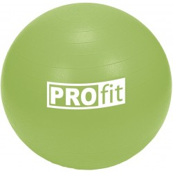 Piłka fitness 75cm z ABS z pompką PROFIT