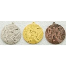 Medal piłka nożna 15050 kpl 3szt. śr.50mm