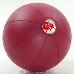 Piłka lekarska gumowa TRIAL 3kg