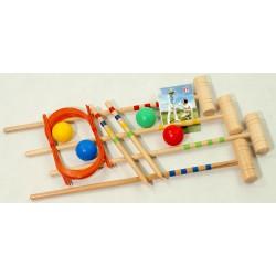 Krokiet gra - krykiet dziecięcy 4 os. Box LONDERO