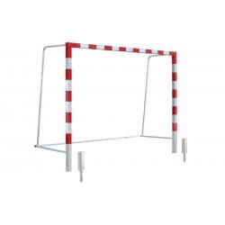 Bramka do piłki ręcznej/nożnej 3x2 m stalowa tulejowana