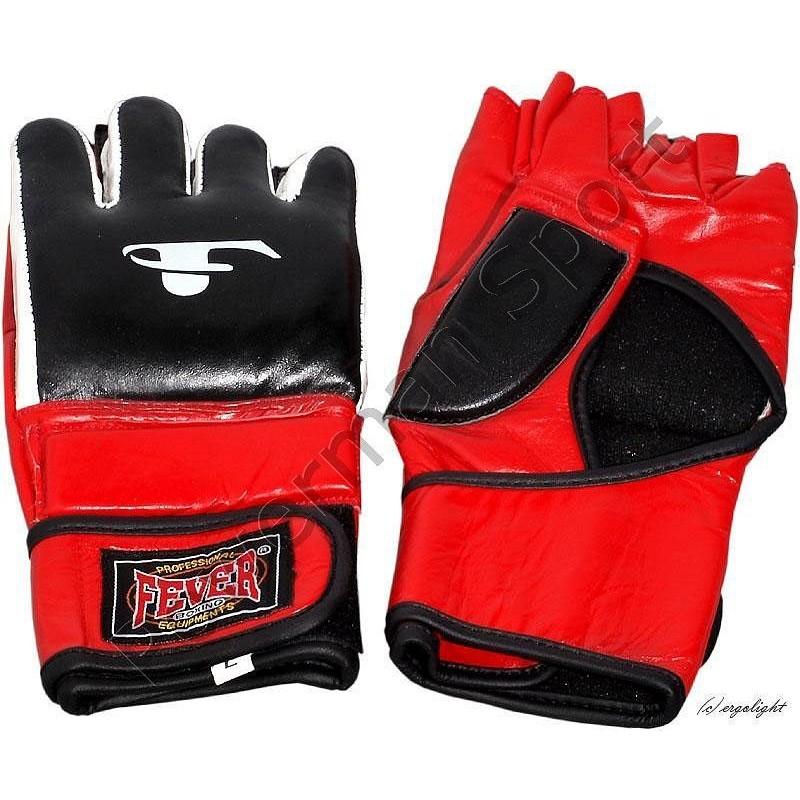 Rękawice do MMA FEVER skórzane