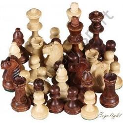 Figury szachowe Staunton w woreczku Nr 6