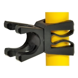 Złączka obrotowa do tyczek slalomowych - wielokątowa