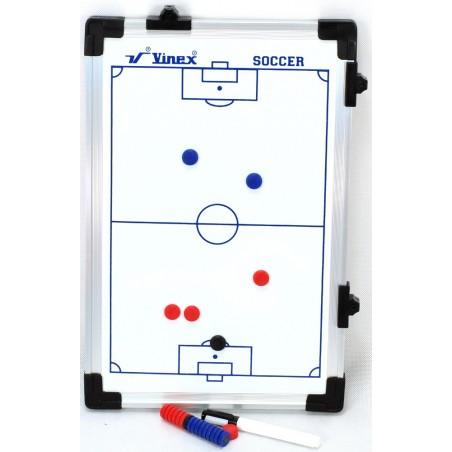 Tablica taktyczna do piłki nożnej 45x30cm