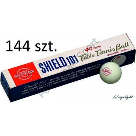 Piłeczki do tenisa stołowego SHIELD - 144szt.