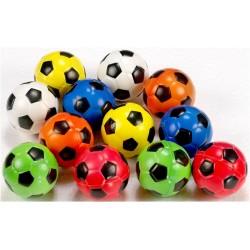 Piłeczki antystresowe piankowe 6,3cm Piłka Nożna - 12szt.