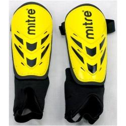 Ochraniacze piłkarskie MITRE Mayan S40003 żółto-czarne