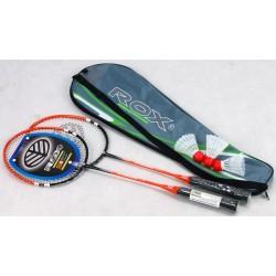 Komplet do badmintona ROX 3000 2 rakiety + 3 lotki