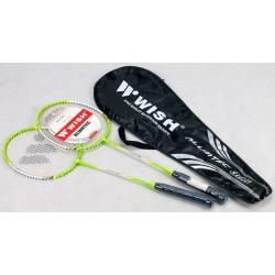 Rakiety do badmintona WISH 306 - zestaw 2szt.