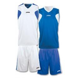 Strój koszykarski dwustronny JOMA 1184.002 biało-niebieski