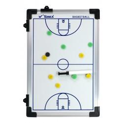 Tablica taktyczna do koszykówki 45x30cm