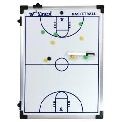 Tablica taktyczna do koszykówki 60x45cm