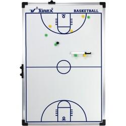 Tablica taktyczna do koszykówki 90x60cm