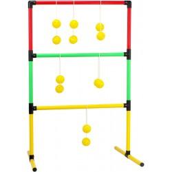 Gra zręcznościowa płotek + piłeczki