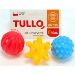 TULO Piłeczki sensoryczne - zestaw 3szt.
